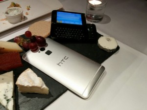 HTC One max with the G1.