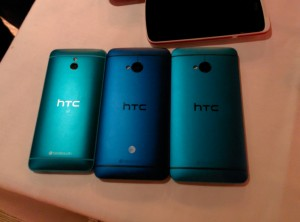 HTC One In Blue. The American version is slightly darker, and I kind of prefer it.